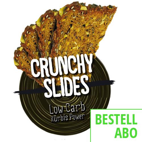 Crunchy Slides Kürbispower Bestellabo